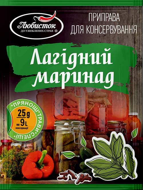 "A mixture for pickling ""Mild marinade"" 25g"