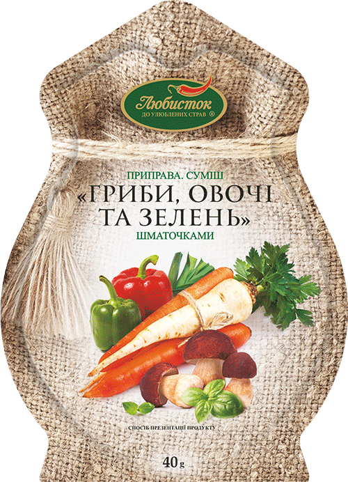 "Blend ""Mushrooms, Vegetables and Herbs"" 40g"