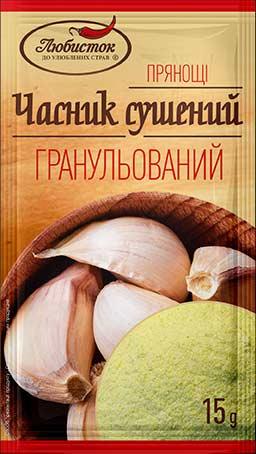 Dried granulated garlic 15g