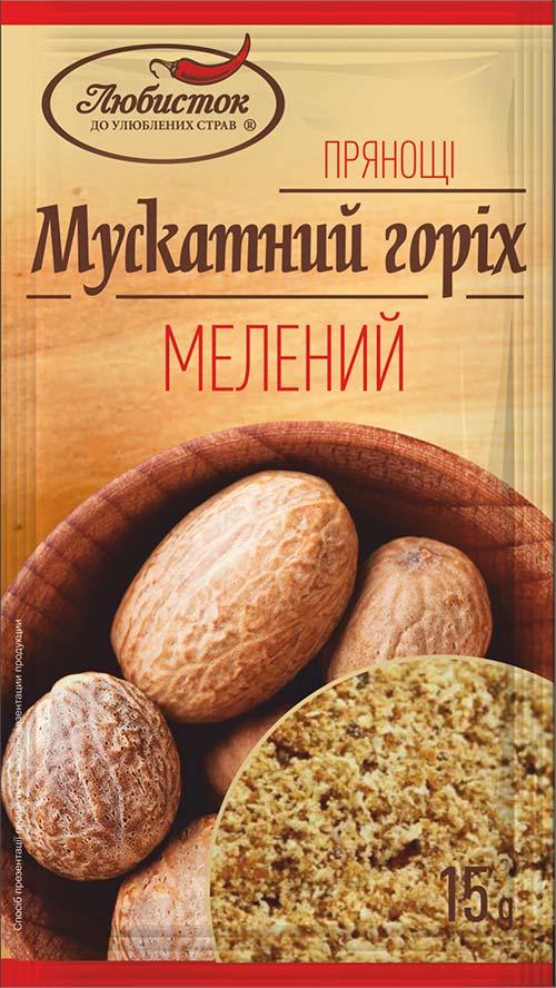 Мускатный орех молотый 15г