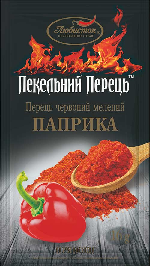 Pepper red ground pepper