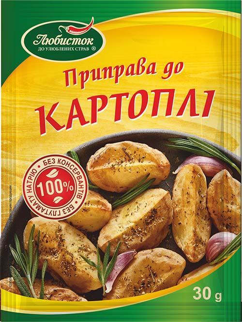 Приправа до картоплі 30г