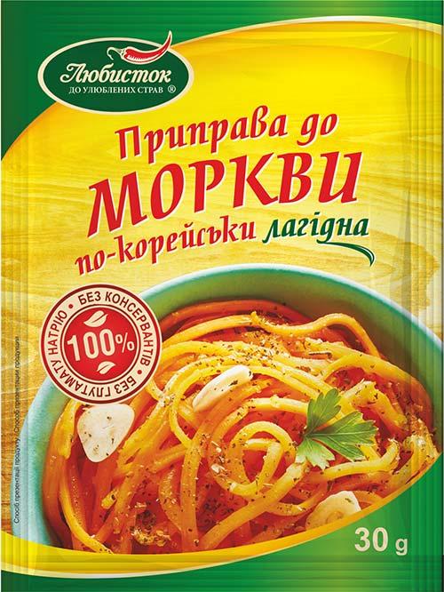 Приправа до моркви по-корейськи. Лагідна 30г
