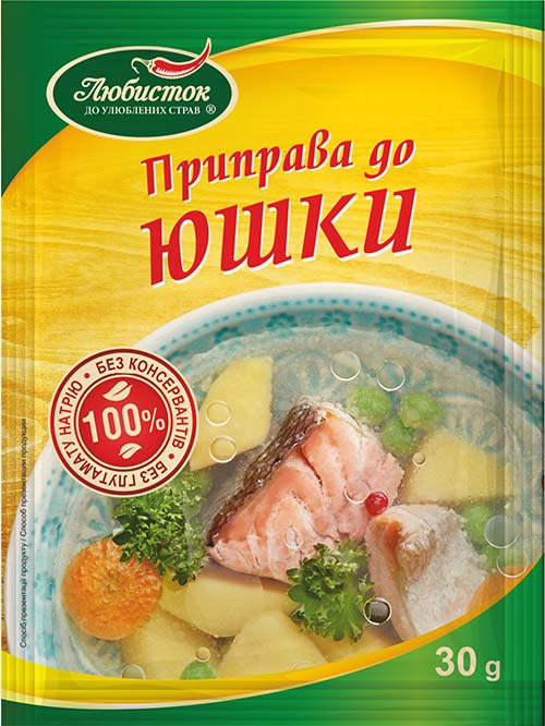 Seasoning for a fish soup 30g