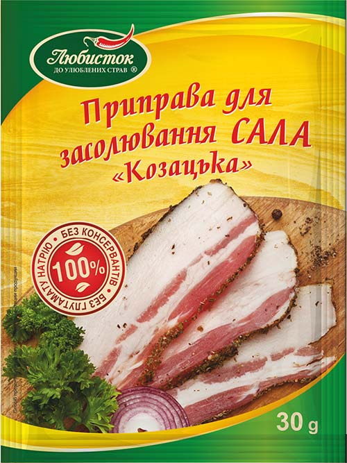 "Seasoning for salting bacon ""Cossack"" 30g"