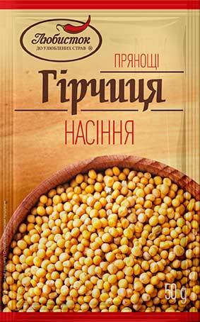 Семена горчицы 50г