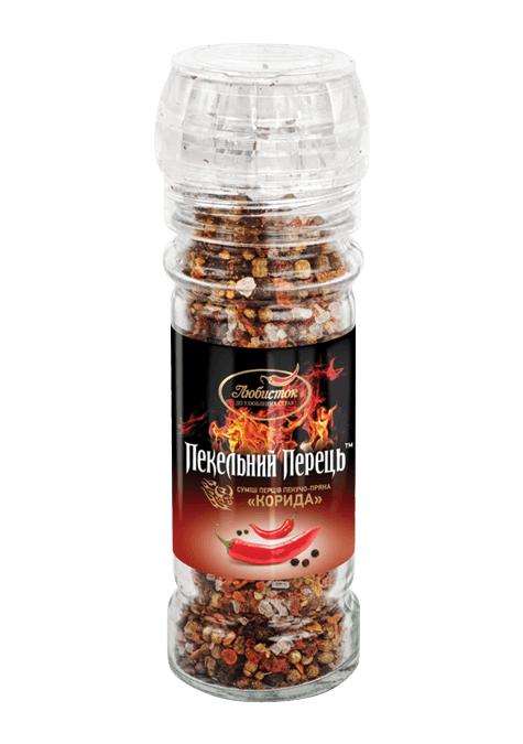 Суміш перців пекучо-пряна «Корида» 70г