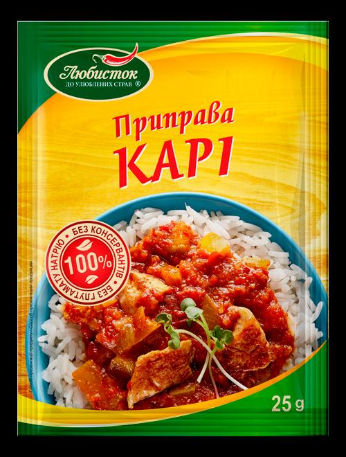 Seasoning curry