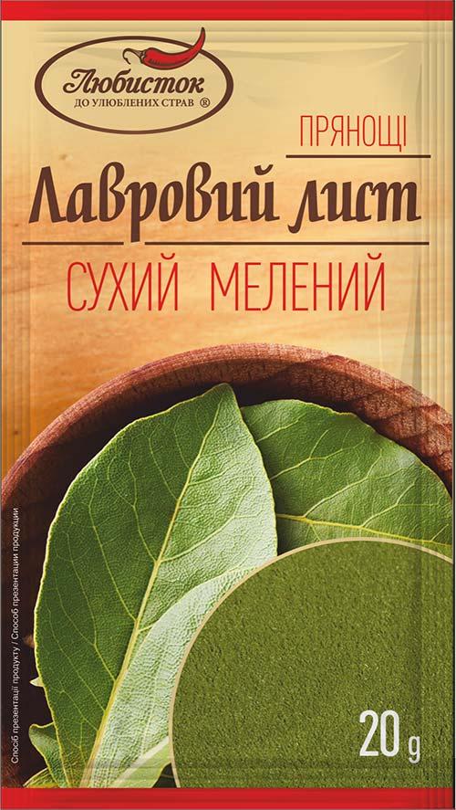 Лавровий лист мелений