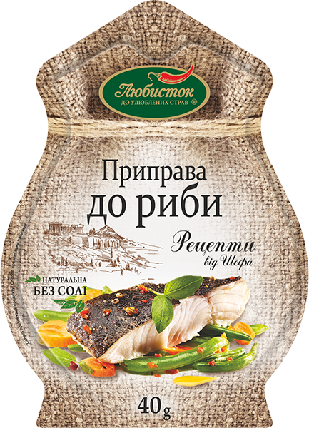 """""""Recipes by Chef"""" Seasoning for Fish 40g"""